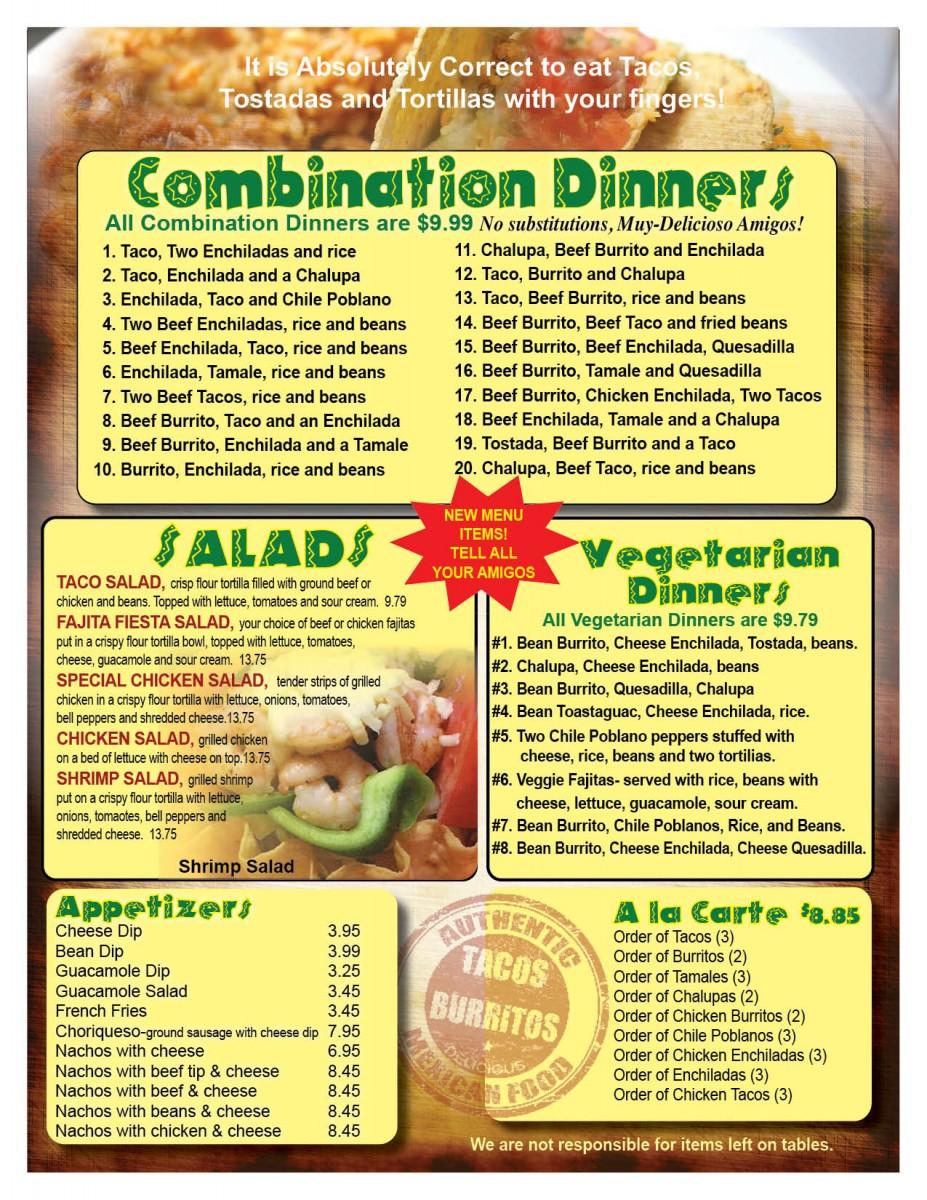 Salad - Vegetarian - Appetizers